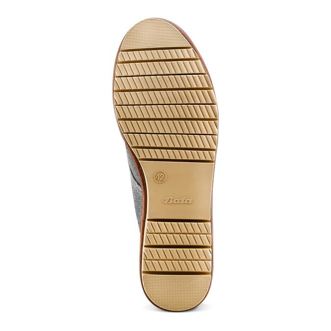 Men's shoes bata, Bleu, 859-9204 - 19