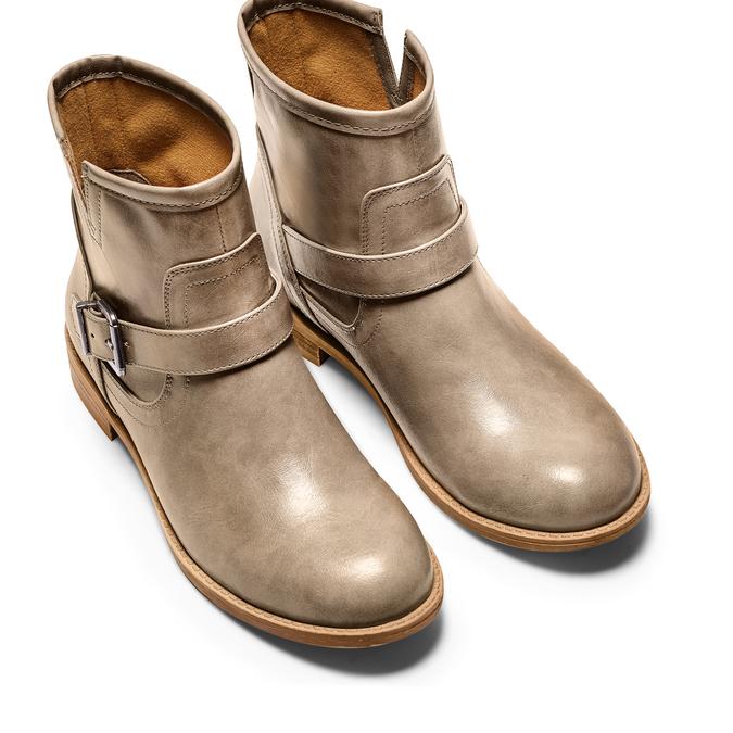 BATA Chaussures Femme bata, Beige, 591-2369 - 17