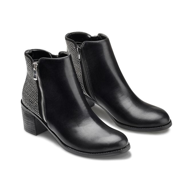 BATA Chaussures Femme bata, Noir, 791-6245 - 16