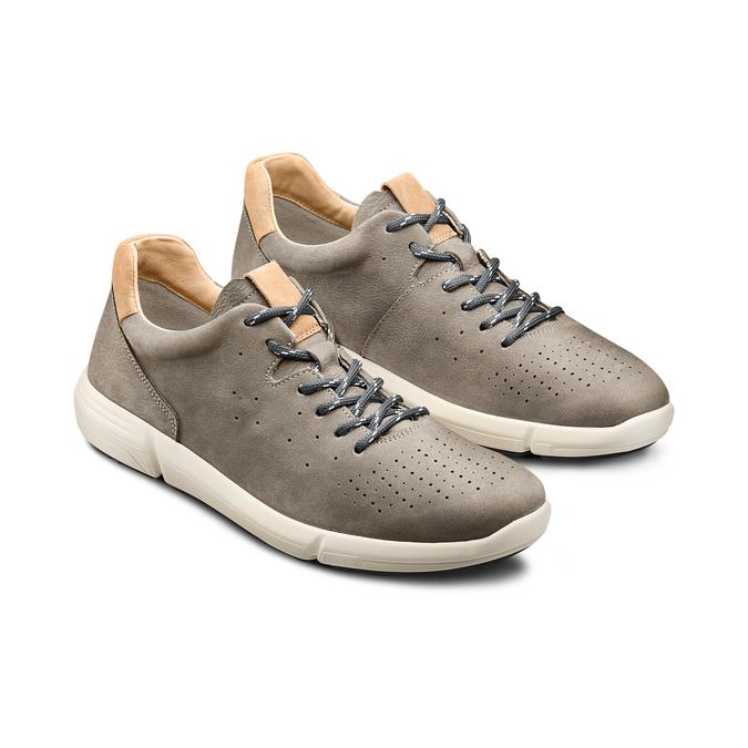 BATA LIGHT Chaussures Homme bata-light, Gris, 846-2343 - 16