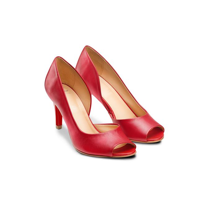 BATA Chaussures Femme bata, Rouge, 724-5370 - 16