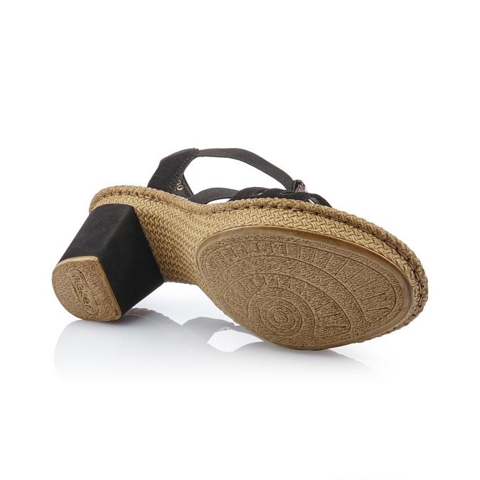 RIEKER Chaussures Femme rieker, Noir, 761-6475 - 17