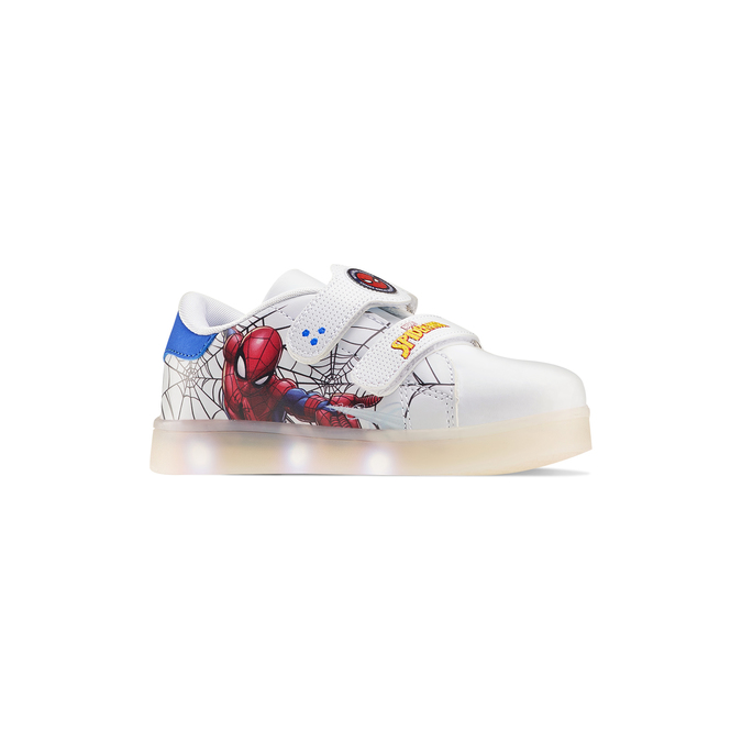 Childrens shoes spiderman, Blanc, 311-1158 - 13