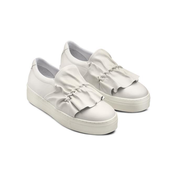 BATA Chaussures Femme bata, Blanc, 534-1138 - 16