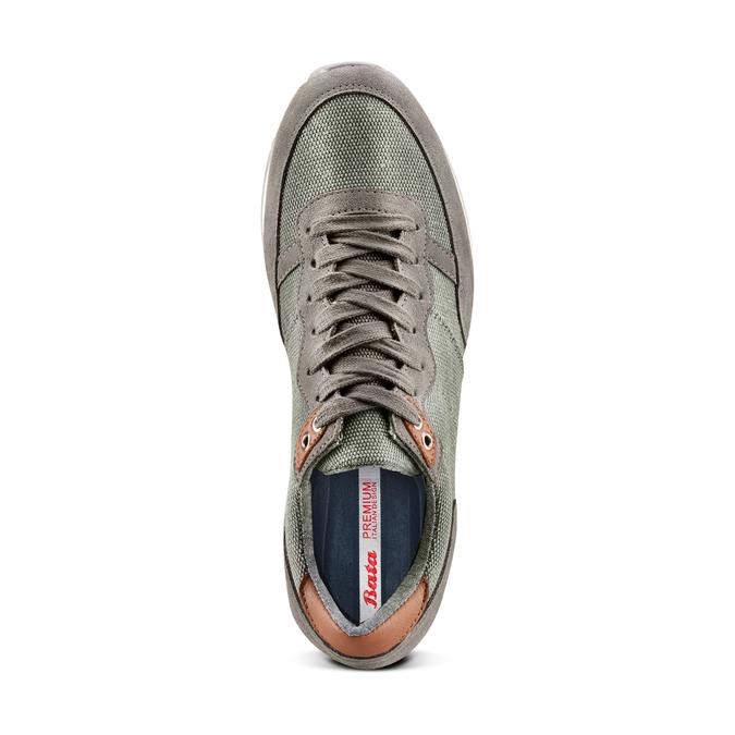 BATA Chaussures Homme bata, Gris, 849-2456 - 17