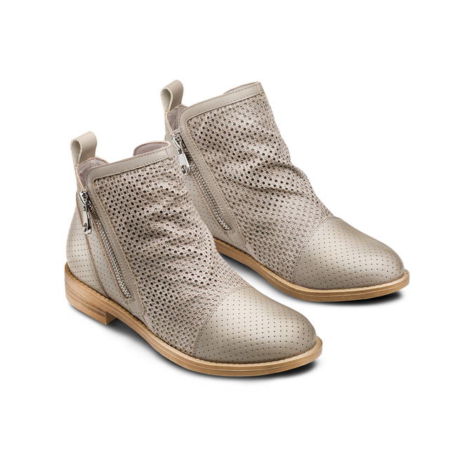 BATA Chaussures Femme bata, Beige, 591-2370 - 16