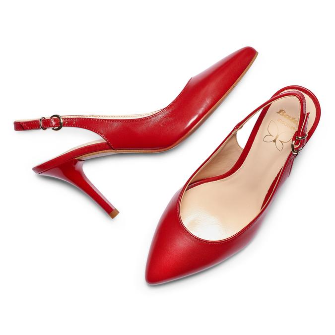 BATA Chaussures Femme bata, Rouge, 724-5196 - 26