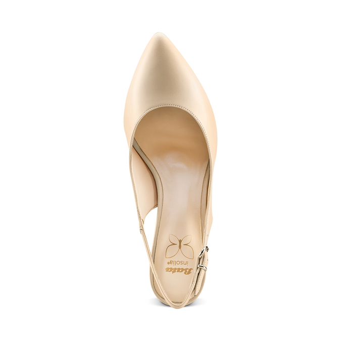 BATA Chaussures Femme bata, Beige, 724-8196 - 17