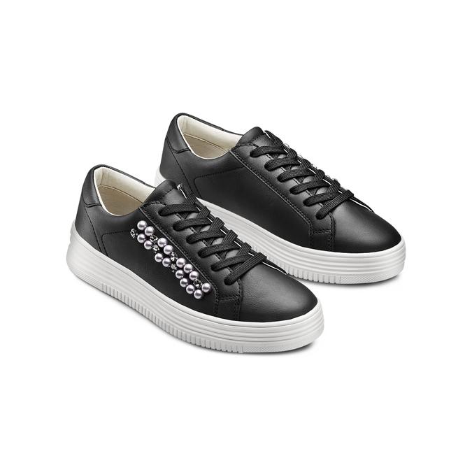 BATA Chaussures Femme bata, Noir, 541-6420 - 16