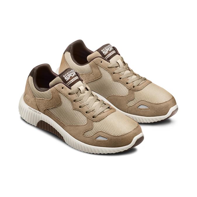 SKECHERS  Chaussures Homme skechers, Brun, 803-3136 - 16