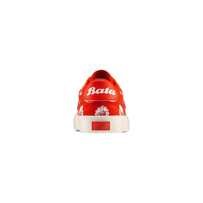 Bata Heritage x Coca Cola Homme bata-coca-cola, Rouge, 889-5330 - 15