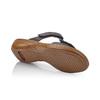 Chaussures Femme rieker, Noir, 661-6195 - 17