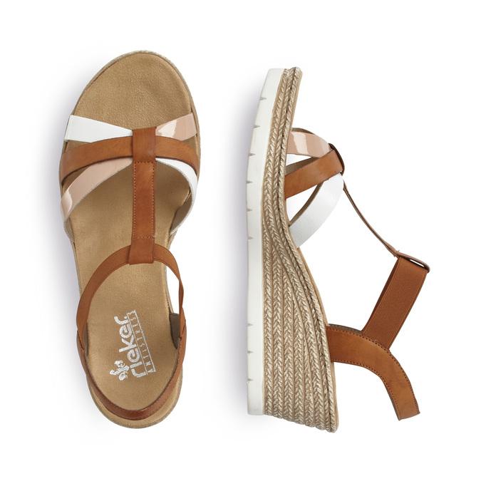 RIEKER Chaussures Femme rieker, Brun, 661-4318 - 16