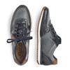 RIEKER Chaussures Homme rieker, Bleu, 844-9669 - 16