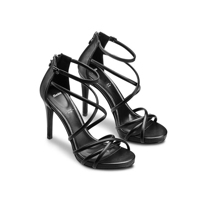 BATA Chaussures Femme bata, Noir, 761-6308 - 16