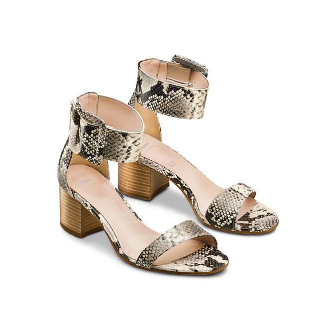 BATA Chaussures Femme bata, Beige, 665-0376 - 16