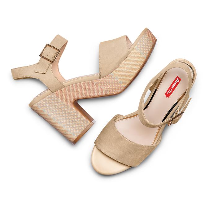 BATA RL Chaussures Femme bata-rl, Jaune, 769-8148 - 26