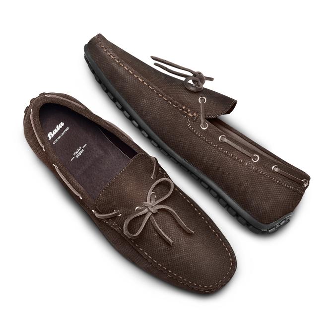 BATA Chaussures Homme bata, Brun, 853-4146 - 26