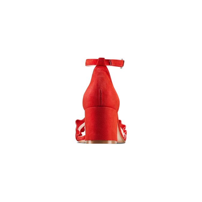 BATA Chaussures Femme bata, Rouge, 663-5377 - 15