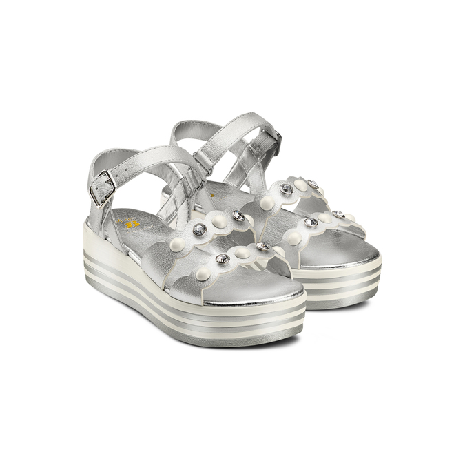 MINI B Chaussures Enfant mini-b, Argent, 361-1283 - 16