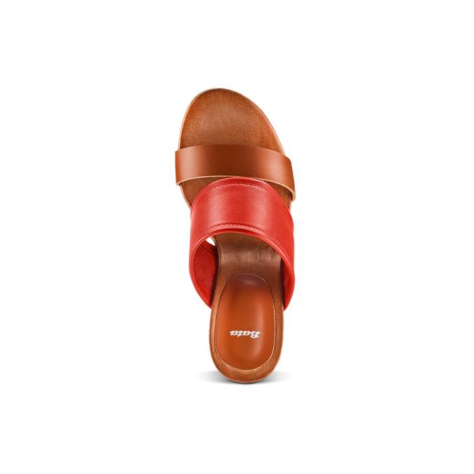 BATA Chaussures Femme bata, Rouge, 764-5629 - 17