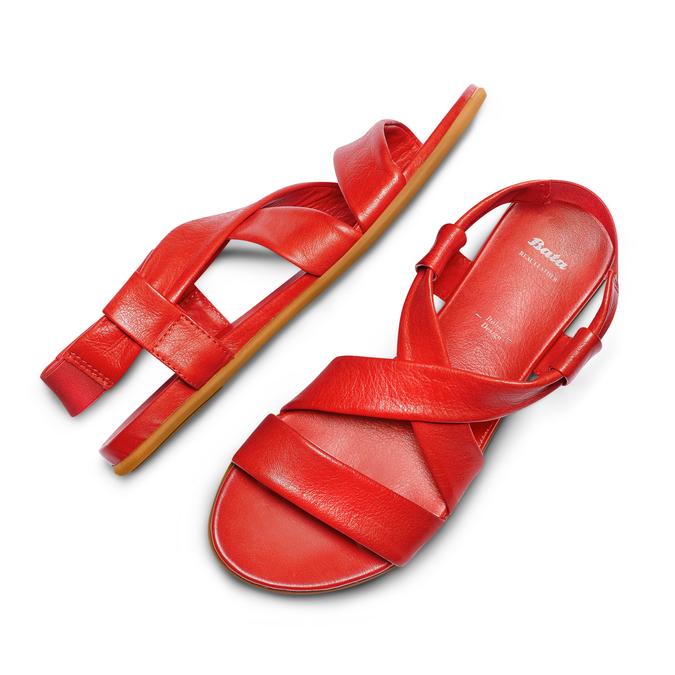 BATA Chaussures Femme bata, Rouge, 564-5443 - 26