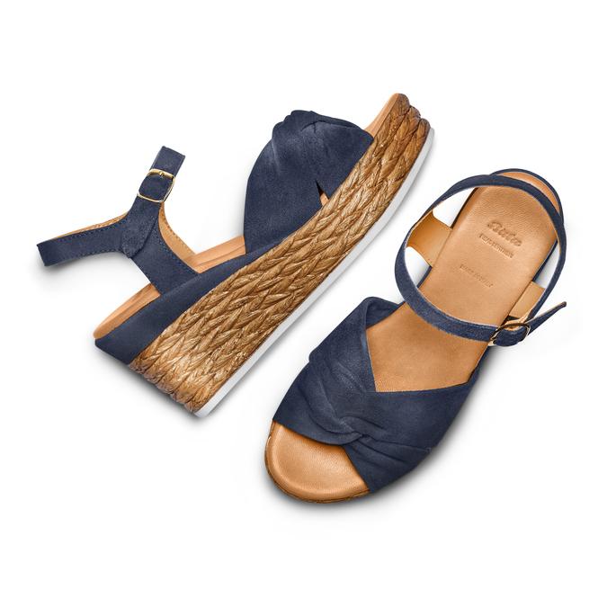 BATA Chaussures Femme bata, Bleu, 763-9591 - 26