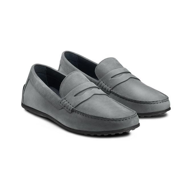 BATA Chaussures Homme bata, Gris, 856-2263 - 16