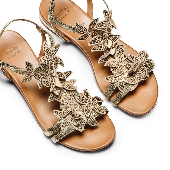 BATA Chaussures Femme bata, Or, 563-8559 - 26