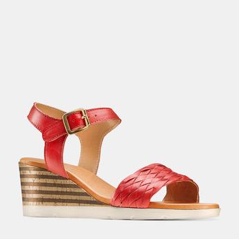 BATA Chaussures Femme bata, Rouge, 764-5590 - 13