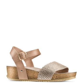 BATA Chaussures Femme bata, Beige, 669-8373 - 13