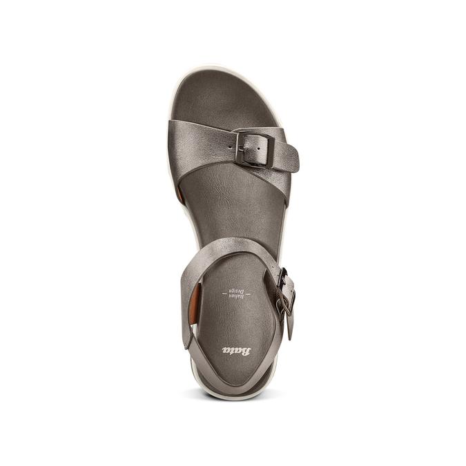 BATA Chaussures Femme bata, Gris, 561-2493 - 17
