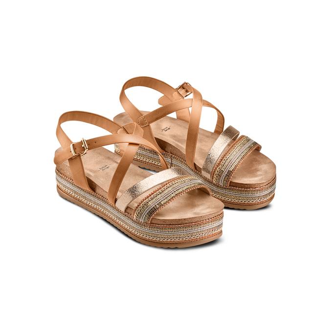 BATA Chaussures Femme bata, Brun, 661-3374 - 16