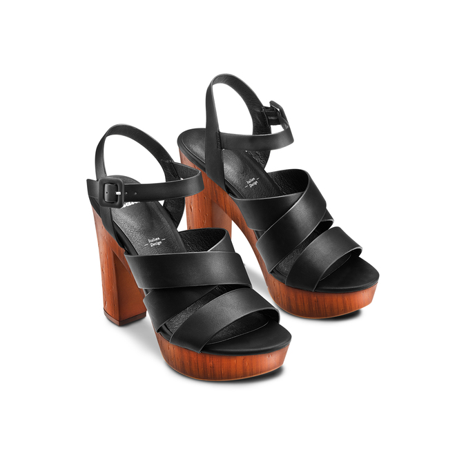 BATA Chaussures Femme bata, Noir, 761-6582 - 16