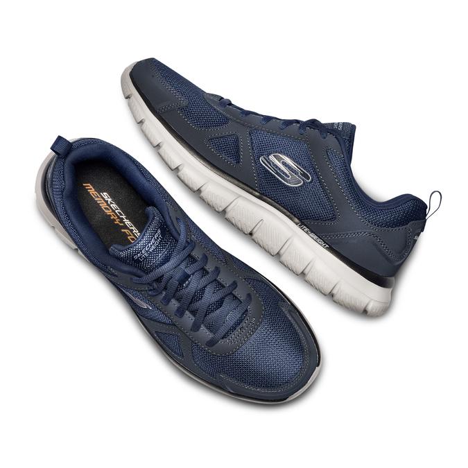 SKECHERS  Chaussures Homme skechers, Bleu, 809-9234 - 26