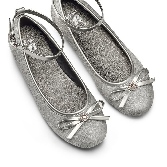 Chaussures Enfant mini-b, Argent, 329-1430 - 26