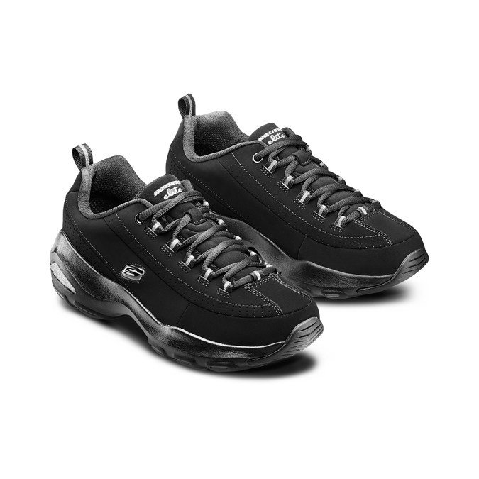 Chaussures Femme skechers, Noir, 501-6128 - 16