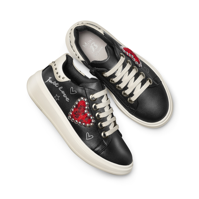 Chaussures Enfant mini-b, Noir, 321-6427 - 26