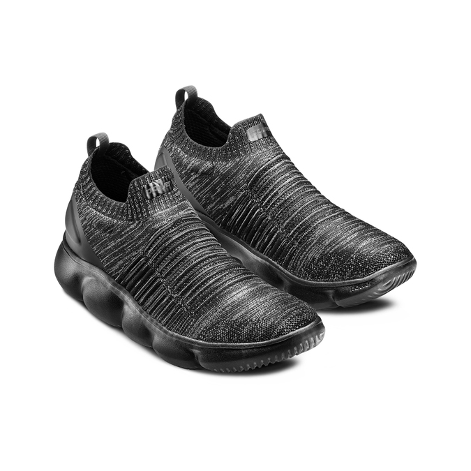 POWER  Chaussures Homme power, Noir, 809-6241 - 16