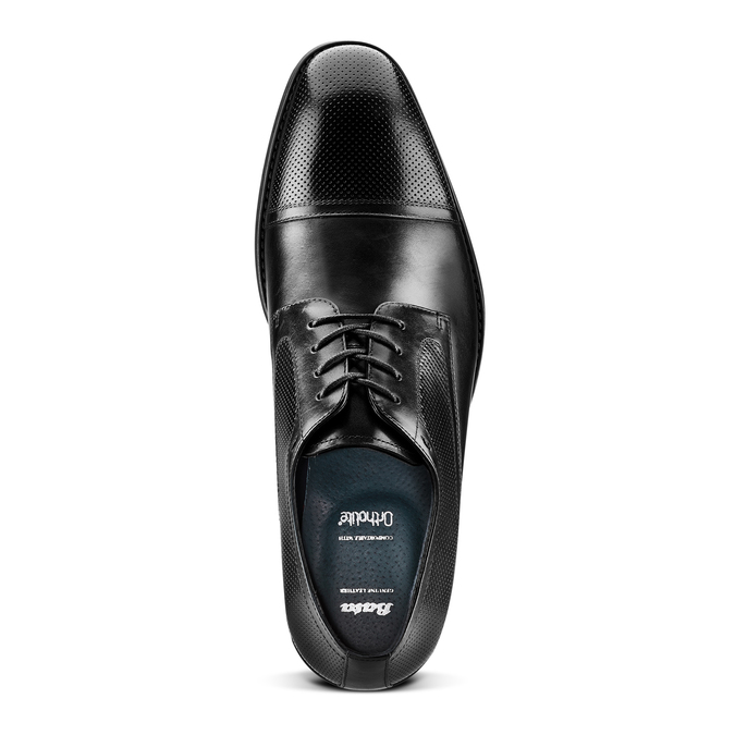 Chaussures Homme bata, Noir, 824-6344 - 17