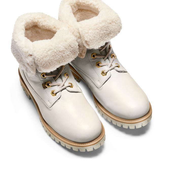WEINBRENNER Chaussures Femme weinbrenner, Blanc, 696-1399 - 17