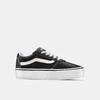 Chaussures Femme vans, Noir, 509-6132 - 13