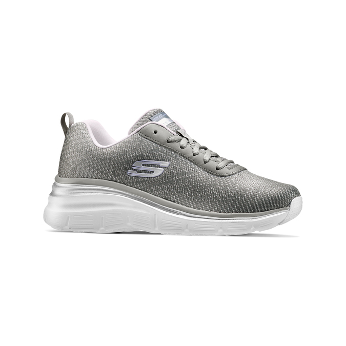 Chaussures Femme skechers, Gris, 509-2166 - 13