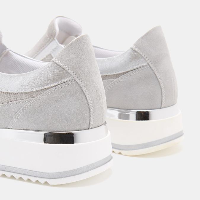 Chaussures Femme bata, Argent, 633-1102 - 17
