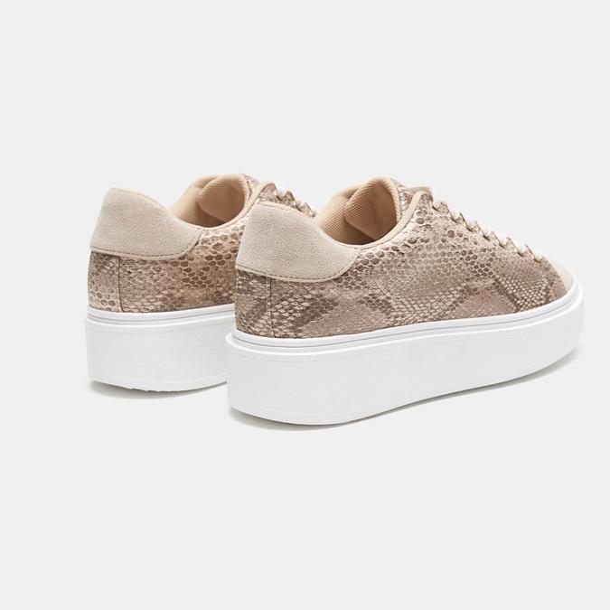 Chaussures Femme bata, Beige, 541-8554 - 16