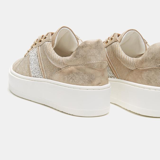 Chaussures Femme bata, Or, 549-8551 - 15