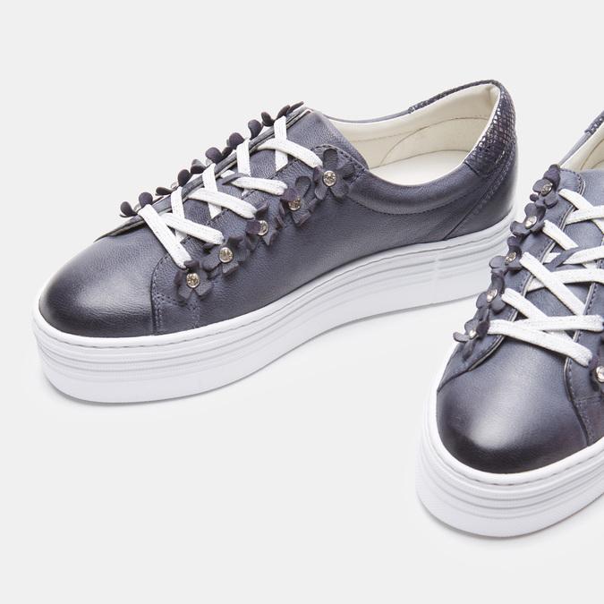 Chaussures Femme bata, Bleu, 544-9548 - 19