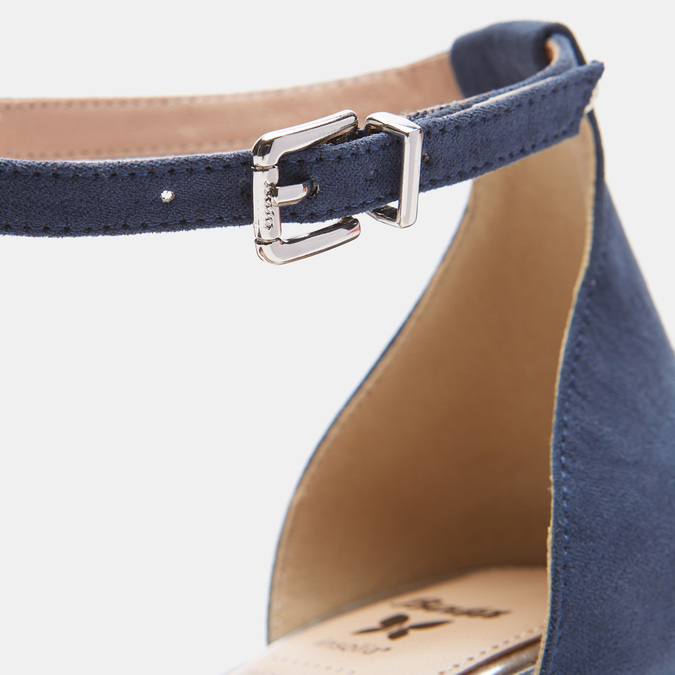 Chaussures Femme insolia, Bleu, 629-9199 - 26