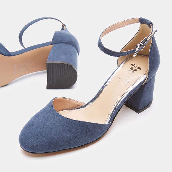 Chaussures Femme insolia, Bleu, 629-9199 - 19