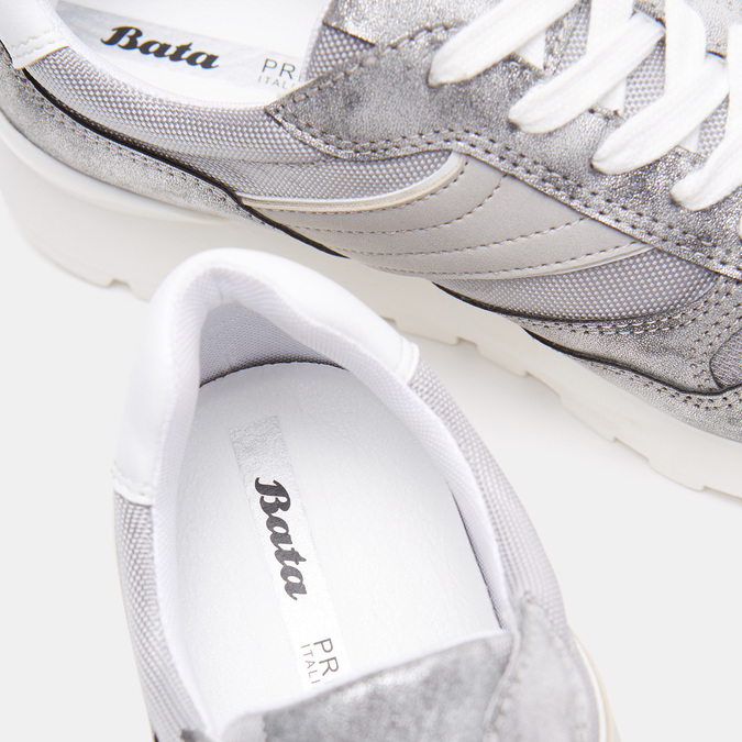 Chaussures Femme bata, Argent, 541-2574 - 16